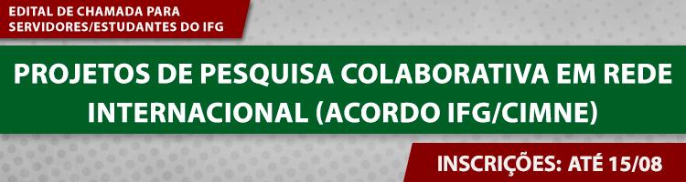EDITAL PESQUISA COLABORATIVA