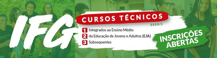 Banner do Processo Seleção Técnicos 2020/1