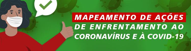 Mapeamento Ações Coronavírus