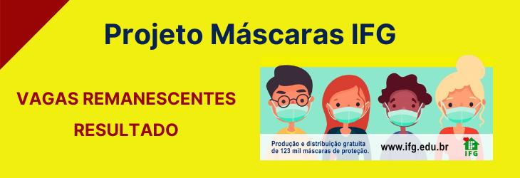 Edital Máscaras IFG