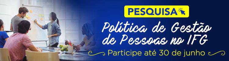 Banner pesquisa gestão de pessoas