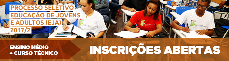 Abertas inscrições para cursos técnicos integrados para jovens e adultos