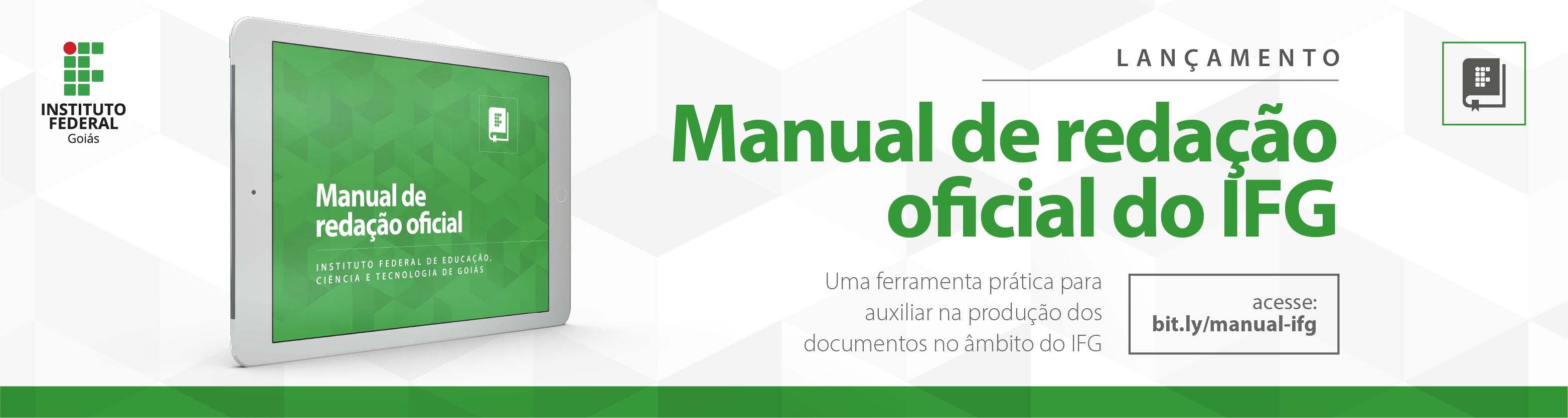 Manual de Redação IFG