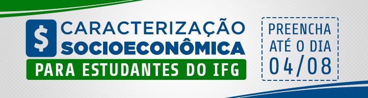 Banner Pesquisa Estudantes Caracterização Socioecômica
