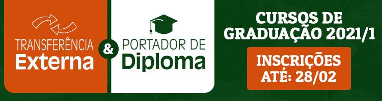 Portador de diploma e transferência externa/câmpus graduação