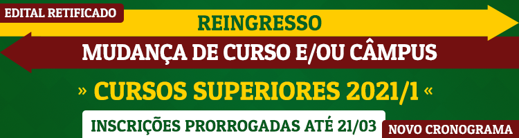 Reingresso CURSOS DE GRADUAÇÃO