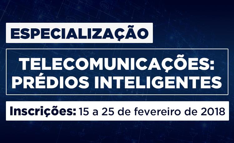 Especialização Telecomunicações