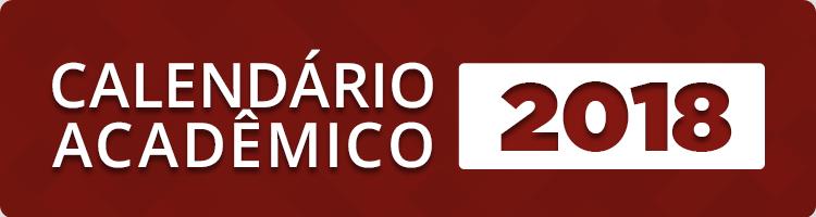 Calendário Acadêmico 2018