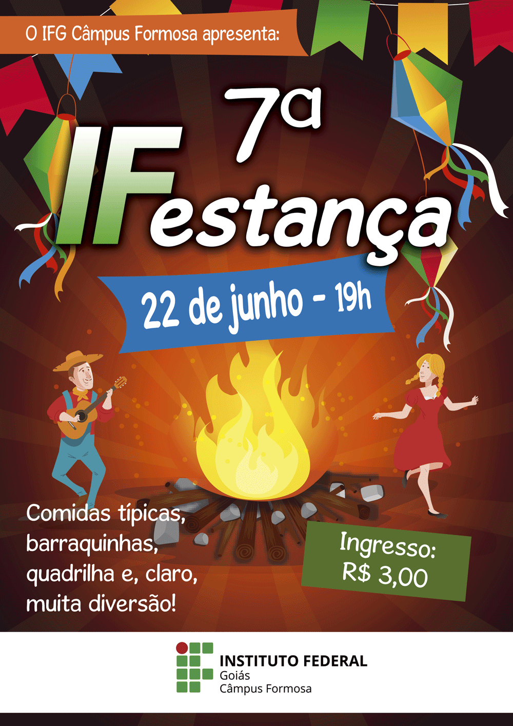 7º IFestança do IFG/Câmpus Formosa