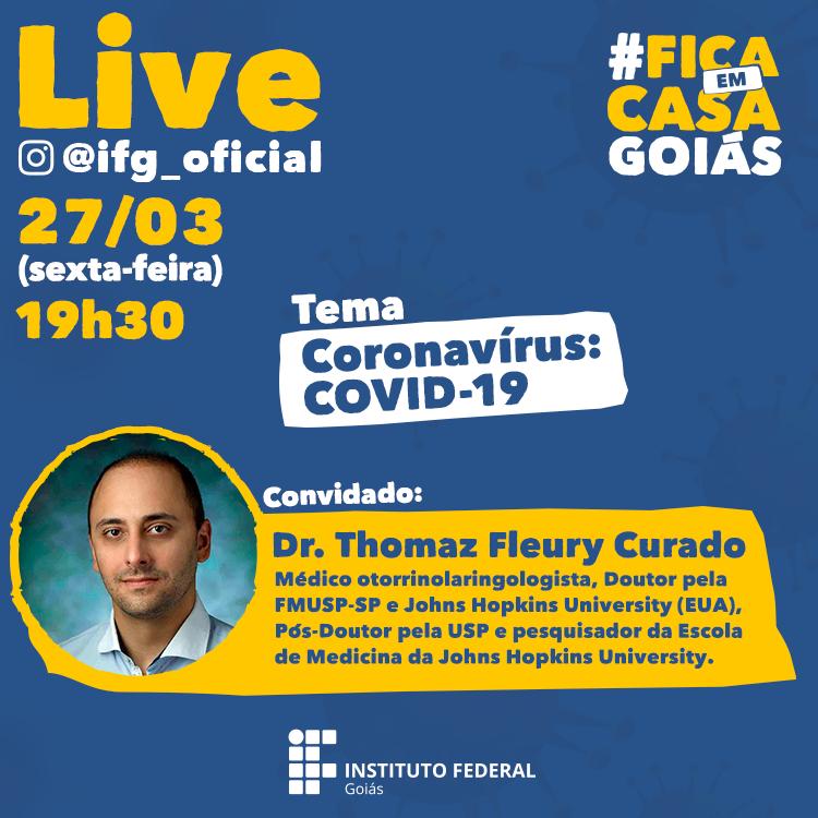 O entrevistado Thomaz Fleury Curado é goiano, médico otorrinolaringologista, Doutor pela Faculdade de Medicina da Universidade de São Paulo (USP) e Universidade Johns Hopkins (EUA), Pós-Doutor pela USP.