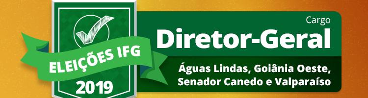 Eleições 2019 - Diretores-Gerais