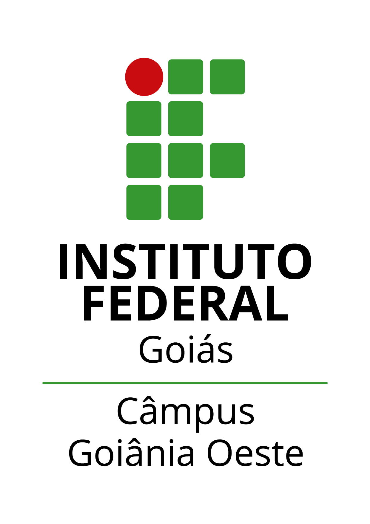 Logo do IFG - Câmpus Goiânia Oeste