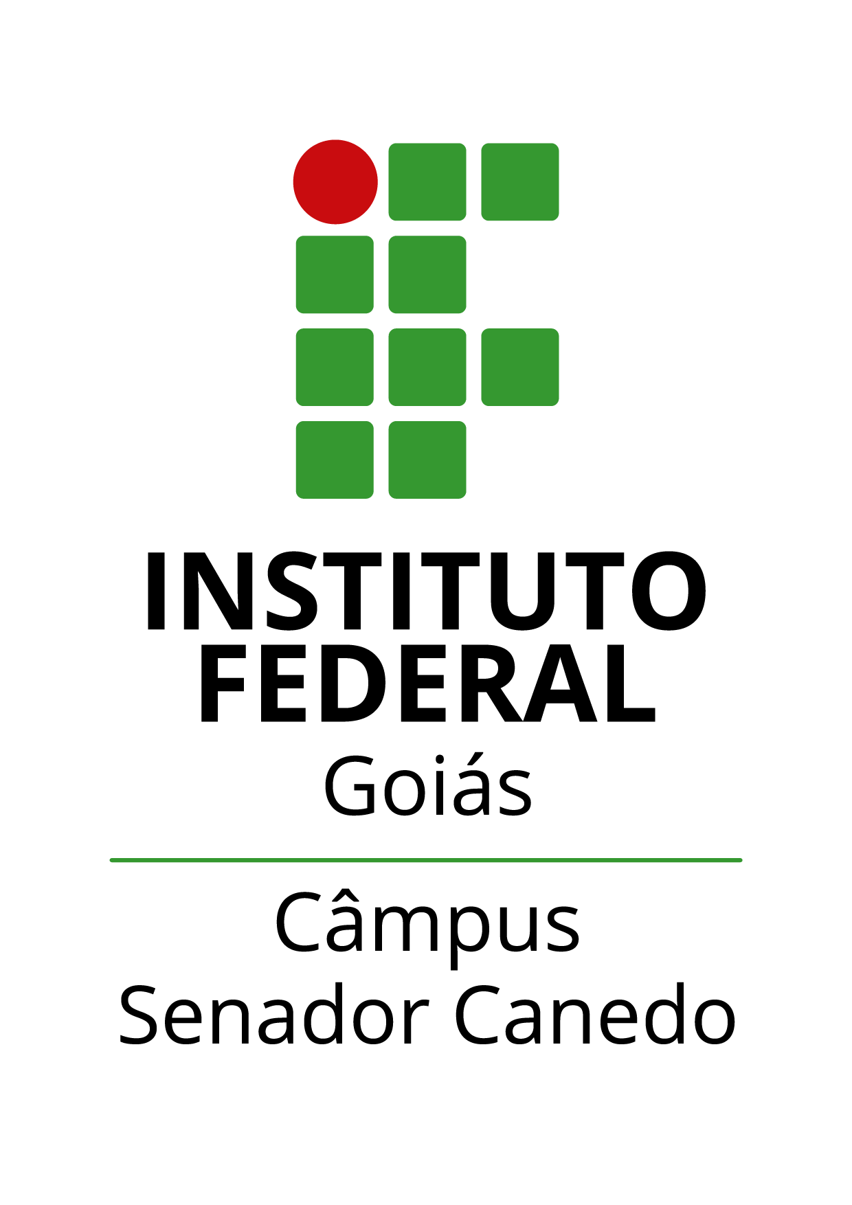 Logo do IFG - Câmpus Senador Canedo